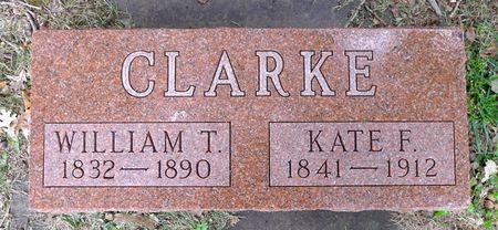 CLARK, KATE F. - Dickinson County, Iowa | KATE F. CLARK