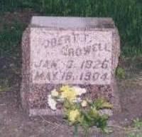 CROWELL, ROBERT T. - Dickinson County, Iowa | ROBERT T. CROWELL