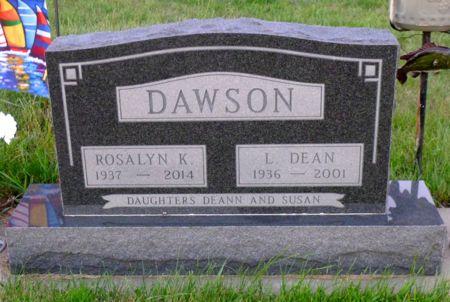MCCLELLAN DAWSON, ROSALYN K. - Dickinson County, Iowa   ROSALYN K. MCCLELLAN DAWSON