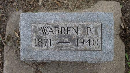 DODGE, WARREN P. - Dickinson County, Iowa | WARREN P. DODGE