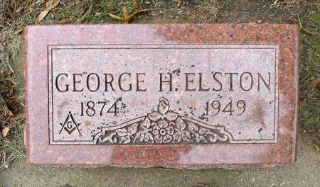ELSTON, GEORGE H. - Dickinson County, Iowa   GEORGE H. ELSTON
