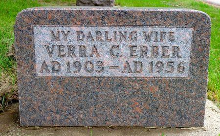 ROOKS ERBER, VERRA C - Dickinson County, Iowa   VERRA C ROOKS ERBER