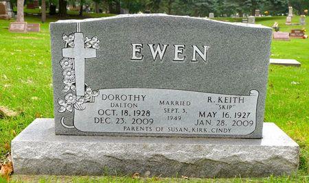 EWEN, R. KEITH - Dickinson County, Iowa   R. KEITH EWEN