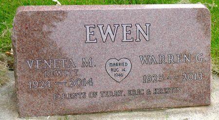 EWEN, VENETA MAY - Dickinson County, Iowa | VENETA MAY EWEN