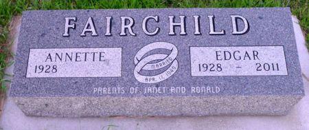 FAIRCHILD, ANNETTE - Dickinson County, Iowa | ANNETTE FAIRCHILD