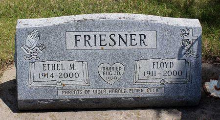 FRIESNER, FLOYD - Dickinson County, Iowa   FLOYD FRIESNER