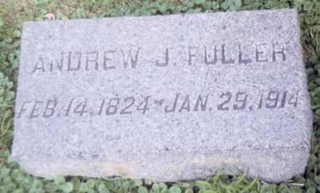 FULLER, ANDREW J. - Dickinson County, Iowa | ANDREW J. FULLER