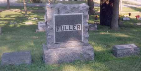 FULLER, FAMILY STONE - Dickinson County, Iowa | FAMILY STONE FULLER