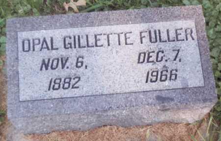 FULLER, OPAL GILLETTE - Dickinson County, Iowa | OPAL GILLETTE FULLER