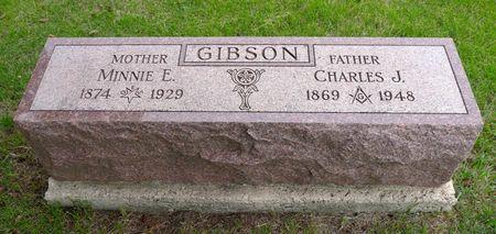 GIBSON, MINNIE E. - Dickinson County, Iowa | MINNIE E. GIBSON