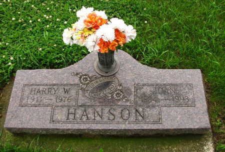 HANSON, JOAN - Dickinson County, Iowa | JOAN HANSON