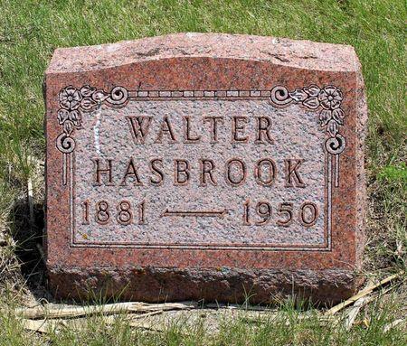 HASBROOK, WALTER - Dickinson County, Iowa | WALTER HASBROOK