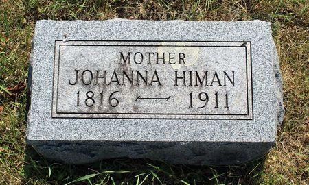 HIMAN, JOHANNA - Dickinson County, Iowa | JOHANNA HIMAN