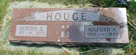 HOUGE, DORTHA D. - Dickinson County, Iowa | DORTHA D. HOUGE