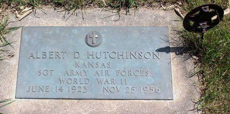 HUTCHINSON, ALBERT D. - Dickinson County, Iowa | ALBERT D. HUTCHINSON