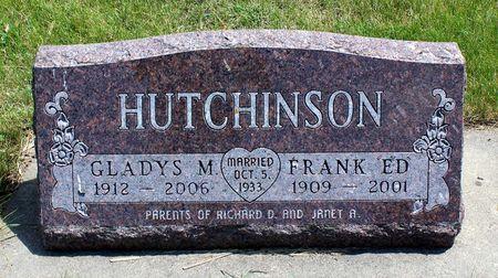 HUTCHINSON, GLADYS M. - Dickinson County, Iowa | GLADYS M. HUTCHINSON