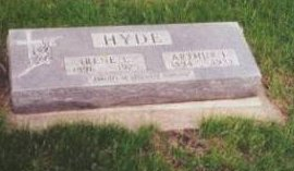 HYDE, ARTHUR FRANKLIN - Dickinson County, Iowa | ARTHUR FRANKLIN HYDE