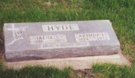 ISEMINGER HYDE, IRENE L. - Dickinson County, Iowa | IRENE L. ISEMINGER HYDE