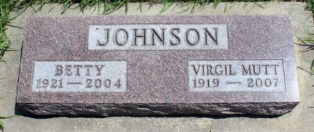 JOHNSON, VIRGIL MUTT - Dickinson County, Iowa | VIRGIL MUTT JOHNSON