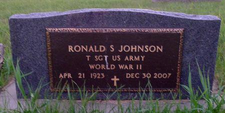 JOHNSON, RONALD S. - Dickinson County, Iowa | RONALD S. JOHNSON