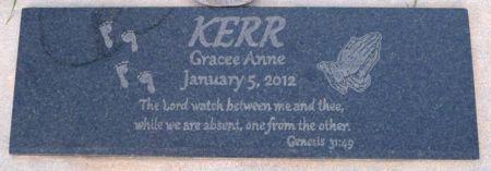 KERR, GRACE ANNE - Dickinson County, Iowa   GRACE ANNE KERR