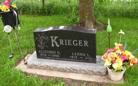 KRIEGER, CLIFFORD O. - Dickinson County, Iowa | CLIFFORD O. KRIEGER