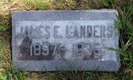LANDERS, JAMES E. - Dickinson County, Iowa   JAMES E. LANDERS
