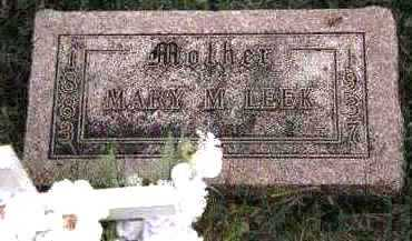 LEEK, MARY MATILDA - Dickinson County, Iowa | MARY MATILDA LEEK