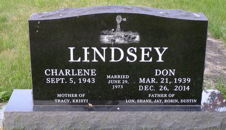 LINDSEY, CHARLENE - Dickinson County, Iowa   CHARLENE LINDSEY