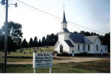 LITTLE SIOUX, CEMETARY ENTRANCE - Dickinson County, Iowa | CEMETARY ENTRANCE LITTLE SIOUX