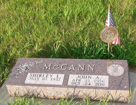 MCCANN, JOHN ALLEN - Dickinson County, Iowa | JOHN ALLEN MCCANN
