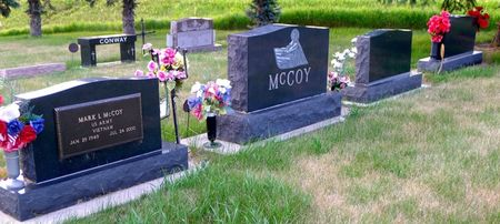 MCCOY, FAMILY PLOT - Dickinson County, Iowa | FAMILY PLOT MCCOY