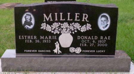MILLER, DONALD RAE - Dickinson County, Iowa   DONALD RAE MILLER