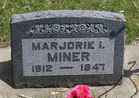 MINER, MARJORIE ISABELLE - Dickinson County, Iowa | MARJORIE ISABELLE MINER