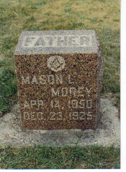 MOREY, MASON LOREN - Dickinson County, Iowa   MASON LOREN MOREY