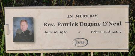 O'NEAL, REV. PATRICK EUGENE - Dickinson County, Iowa   REV. PATRICK EUGENE O'NEAL
