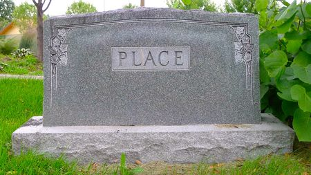 PLACE, FAMILY MARKER - Dickinson County, Iowa | FAMILY MARKER PLACE