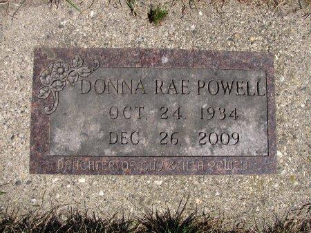 POWELL, DONNA RAE - Dickinson County, Iowa   DONNA RAE POWELL