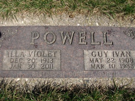 POWELL, ILLA VIOLET - Dickinson County, Iowa | ILLA VIOLET POWELL