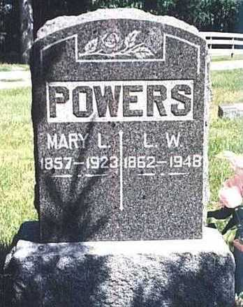 SHEPARD POWERS, MARY LOUISE - Dickinson County, Iowa | MARY LOUISE SHEPARD POWERS