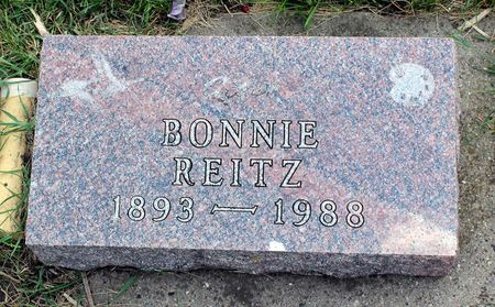 REITZ, BONNIE VERNE - Dickinson County, Iowa | BONNIE VERNE REITZ