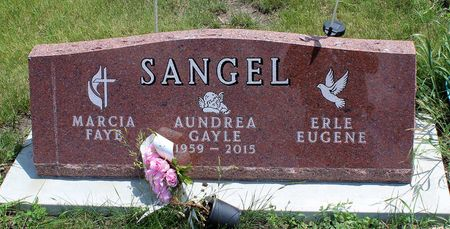 SANGEL, AUNDREA GAYLE - Dickinson County, Iowa | AUNDREA GAYLE SANGEL