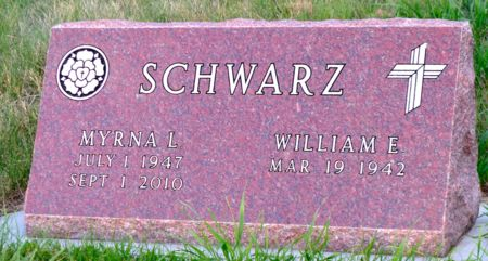 SCHWARZ, WILLIAM E. - Dickinson County, Iowa | WILLIAM E. SCHWARZ