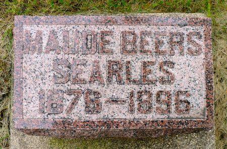 BEERS SEARLES, MAUDE - Dickinson County, Iowa | MAUDE BEERS SEARLES