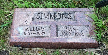 SIMMONS, WILLIAM - Dickinson County, Iowa | WILLIAM SIMMONS