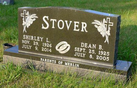 STOVER, DEAN B. - Dickinson County, Iowa   DEAN B. STOVER