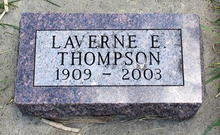 THOMPSON, LAVERNE E. - Dickinson County, Iowa   LAVERNE E. THOMPSON