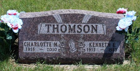 THOMSON, KENNETH EARL - Dickinson County, Iowa | KENNETH EARL THOMSON