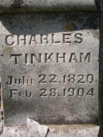 TINKHAM, CHARLES - Dickinson County, Iowa   CHARLES TINKHAM
