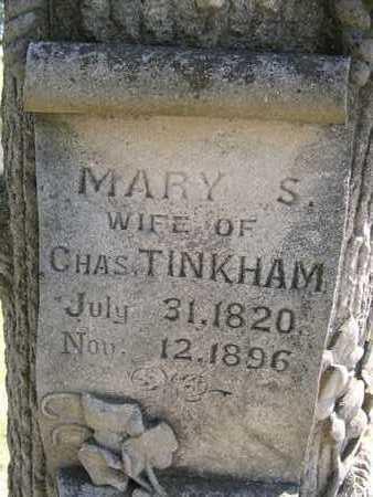 TINKHAM, MARY - Dickinson County, Iowa   MARY TINKHAM